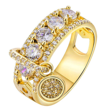 New Arrival Vintage Rose Gold Filled Wedding Rings For Women