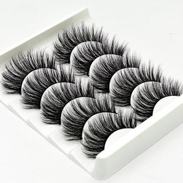 3D Mink Eyelashes Natural False Long Eyelashes