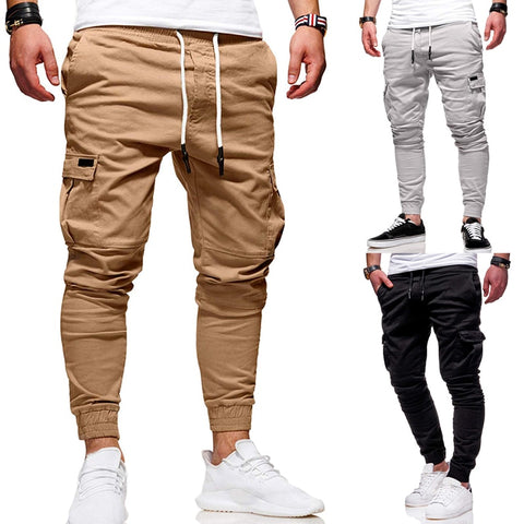 Men's Slim Fit Ankle-tied Pencil Pants