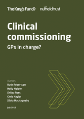 Clinical commissioning