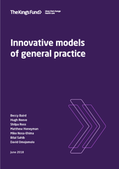 Innovative models of general practice