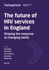 The future of HIV services in England