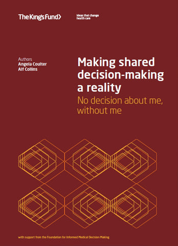 Making shared decision-making a reality