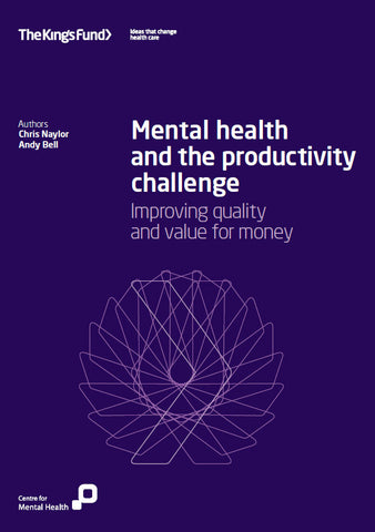 Mental health and the productivity challenge