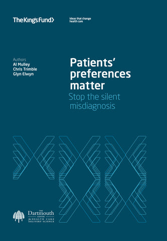 Patients' preferences matter