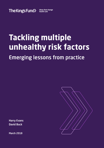 Tackling multiple unhealthy risk factors: emerging lessons from practice