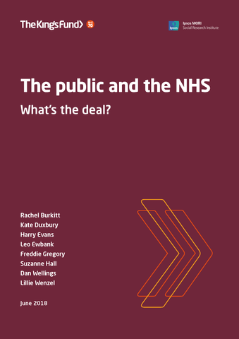 The public and the NHS: what's the deal?