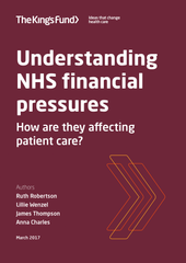 Understanding NHS financial pressures: how are they affecting patient care?