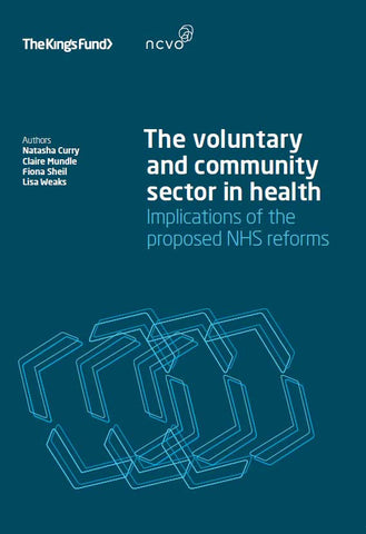 The voluntary and community sector in health