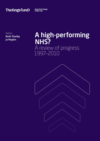 A high-performing NHS?