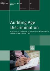 Auditing Age Discrimination publication cover