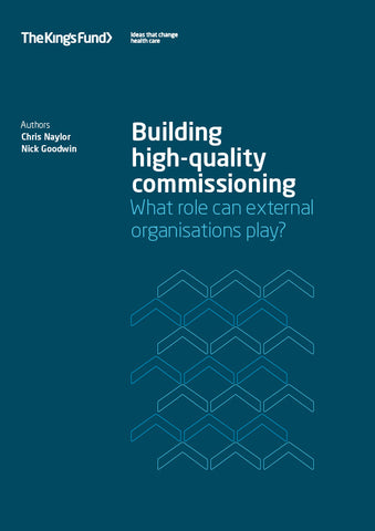 Building high-quality commissioning