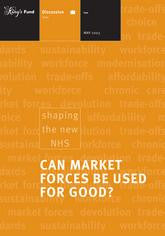 Can Market Forces be Used for Good?