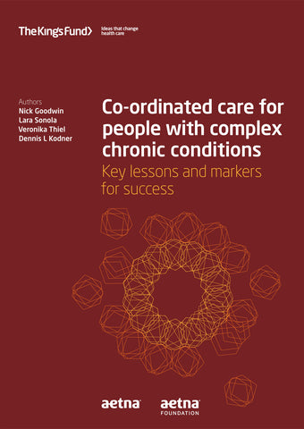 Co-ordinated care for people with complex chronic conditions
