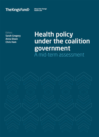 Health policy under the coalition government