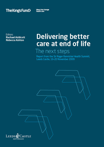 Delivering better care at end of life