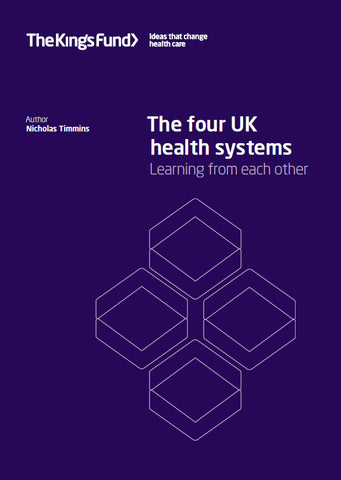 The four UK health systems: learning from each other