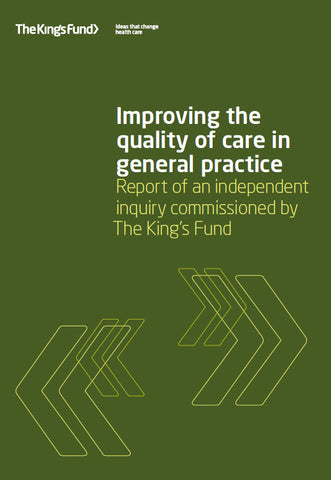 Improving the quality of care in general practice