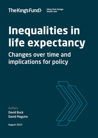 Inequalities in life expectancy