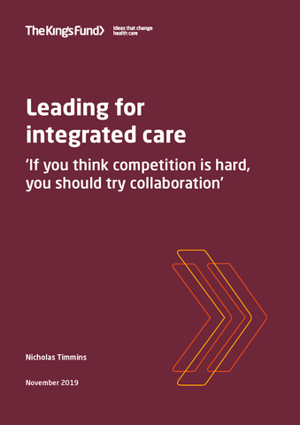 Leading for integrated care