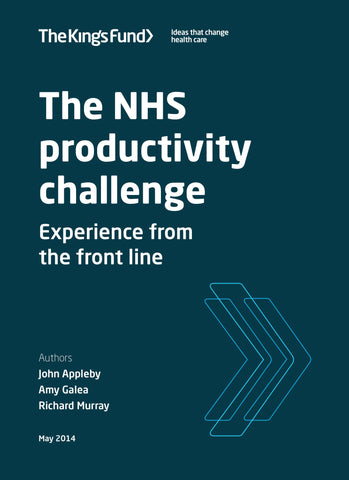 The NHS productivity challenge