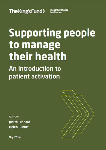 Supporting people to manage their health