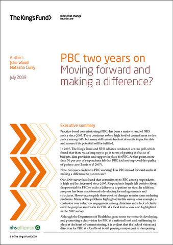 PBC two years on