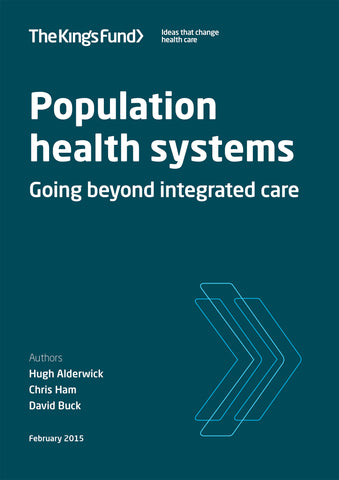 Population health systems