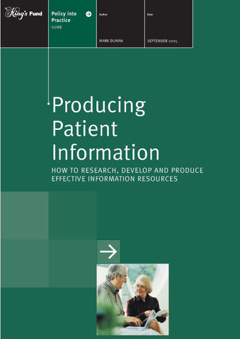 Producing patient information