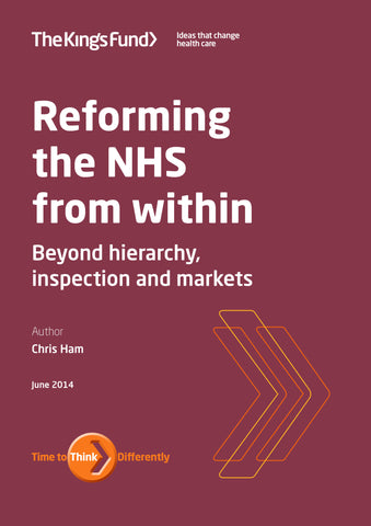 Reforming the NHS from within