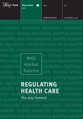 Regulating Health Care