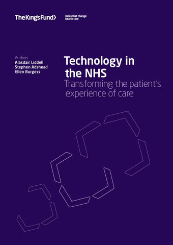 Technology in the NHS