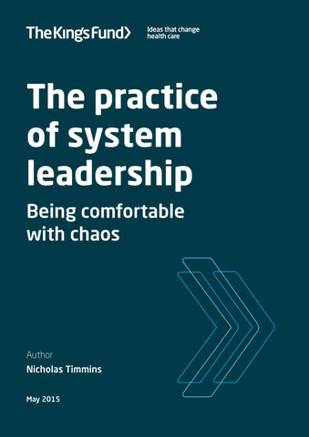 The practice of system leadership