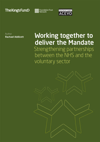 Working together to deliver the Mandate