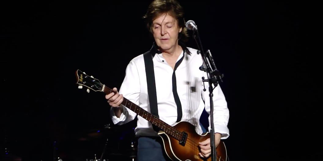 McCartney performs 'Being for the Benefit of Mr. Kite!' live for the first time