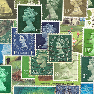 Britain of Stamps – limited edition by Rob Hallifax – detail 2