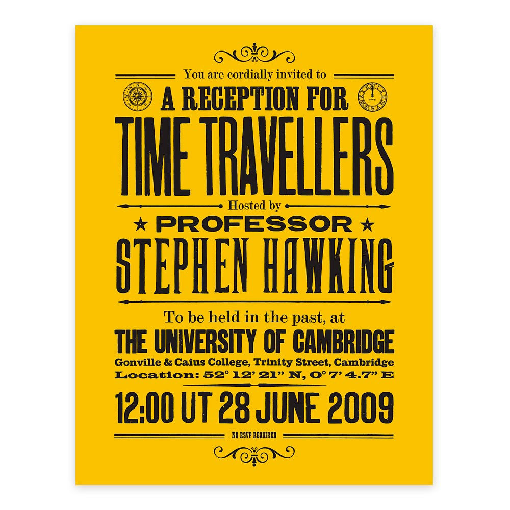 Mit Time Travel Convention