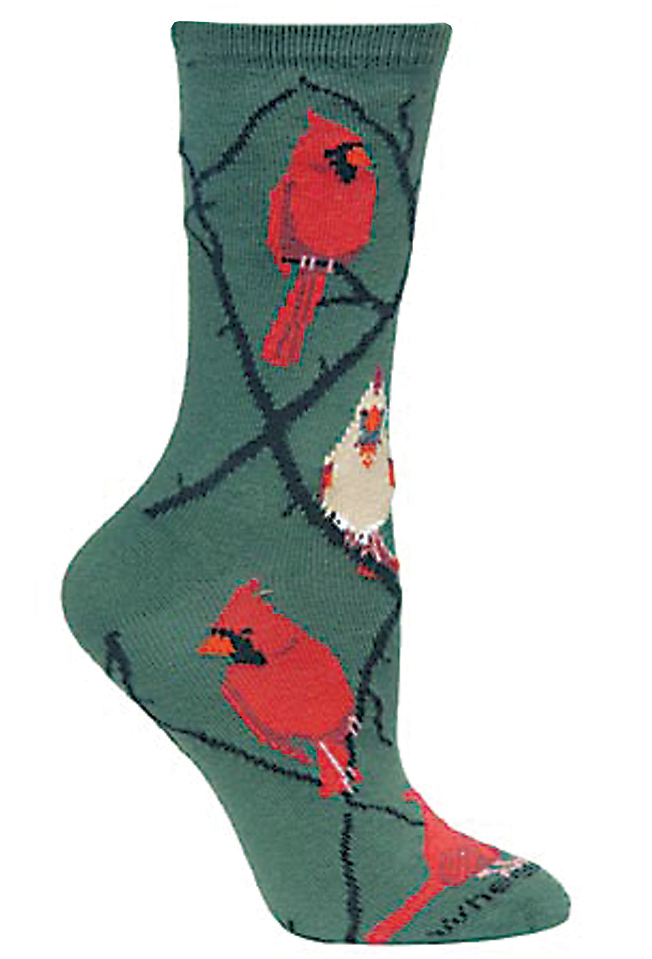 Cardinal, Argyle on Hunter Socks