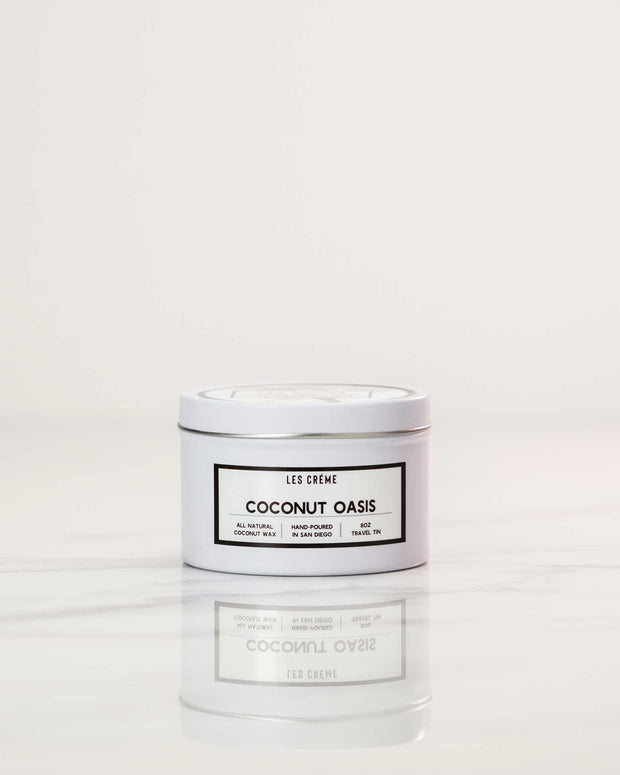 Coconut Oasis Scent Coconut Wax Candle 1