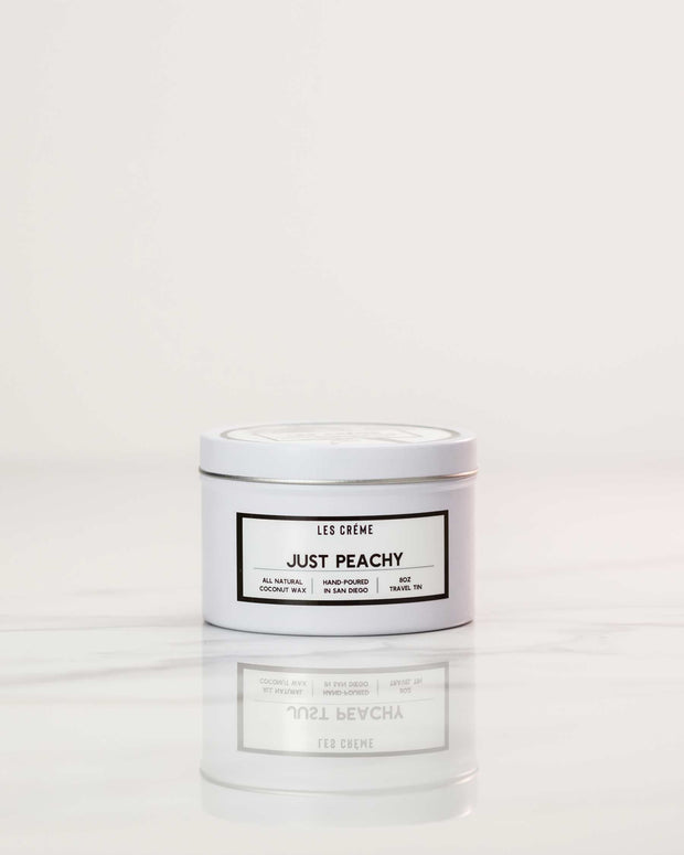 Just Peachy Scent Coconut Wax Candle 1