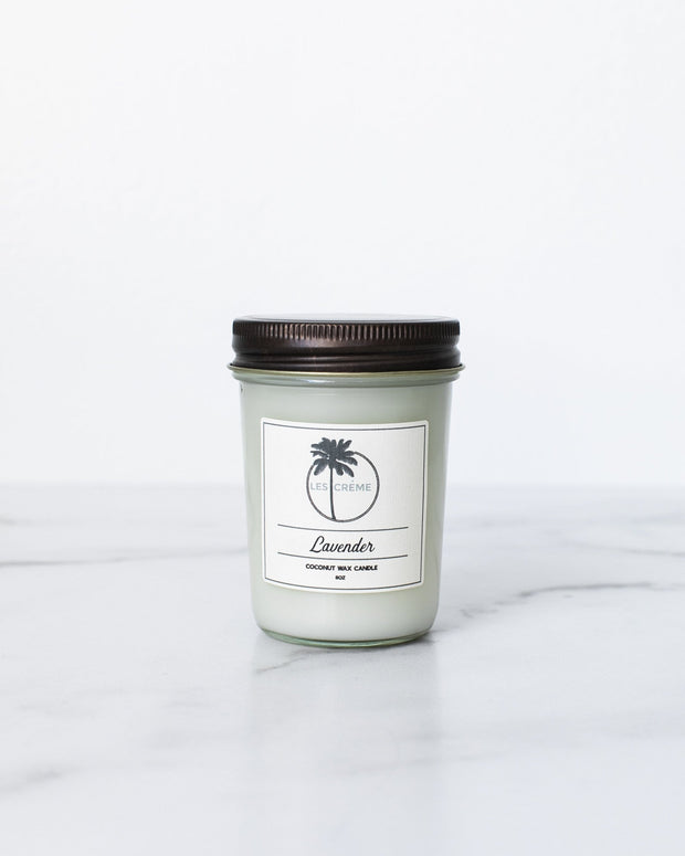 Lavender Scent Coconut Wax Candle 1