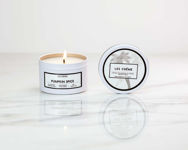 Pumpkin Spice Scent Coconut Wax Candle 1