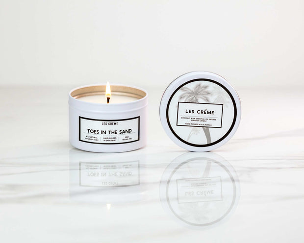 Toes in the Sand Scent Coconut Wax Candle 1