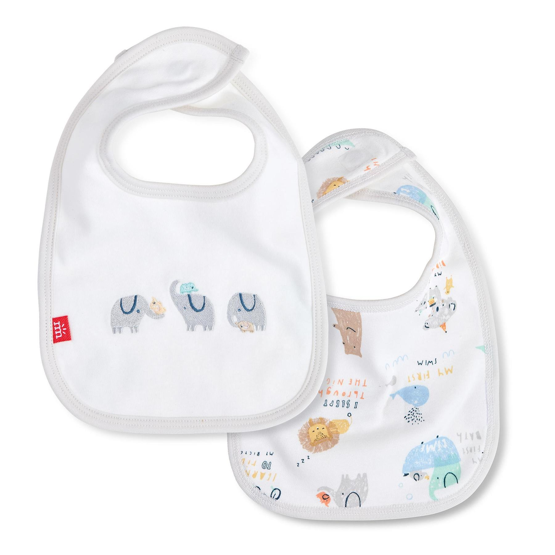 My Year of Firsts Magnetic Reversible Bib