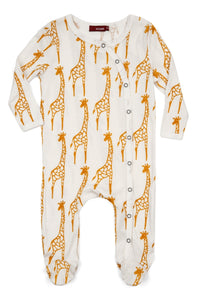 Giraffe Footed Romper