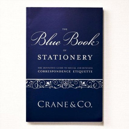 Crane & Co. Blue Book of Stationery