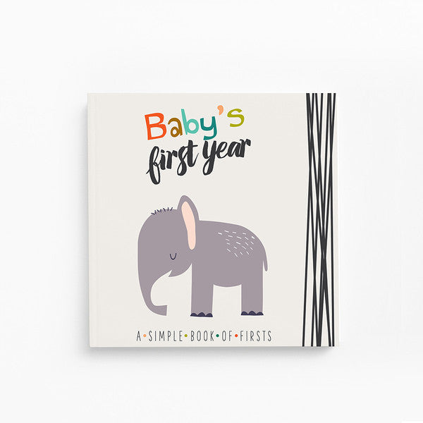 Little Animal Lover Baby Book