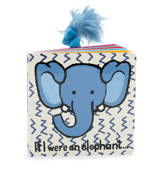 Jellycat If I Were a Elephant Board Book