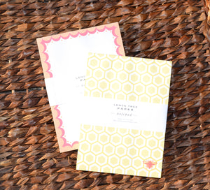 HONEYBEE AND SCALLOP NOTEPAD SET