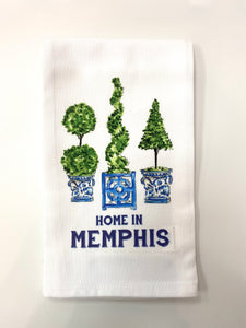 Topiaries Tea Towel